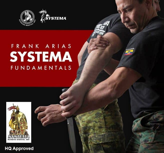 Frank Arias Feb 2020 Systema Russian Martial Art