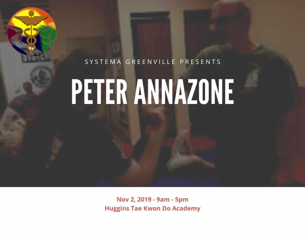 Peter Annazone Nov 2019 Russian Martial Art