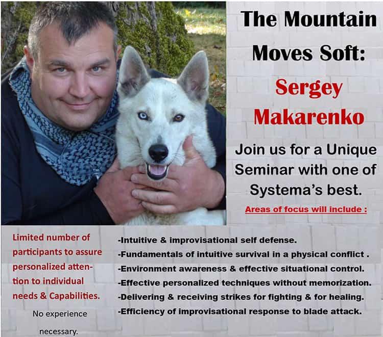 Sergey Makarenko Dec 2019 Systema Russian Martial Art