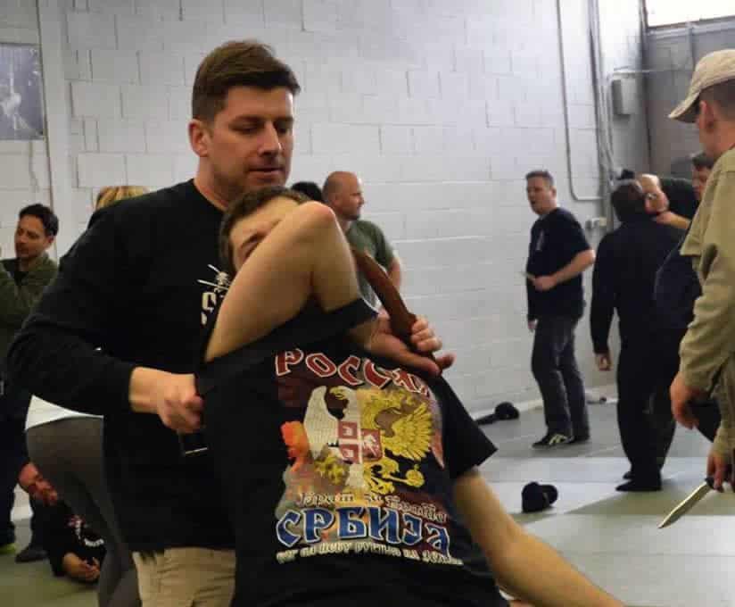 Jason Priest 2016 Systema Russian Martial Art
